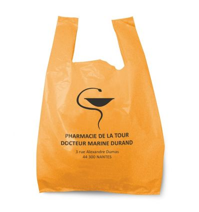 Sac Bretelle Pharmacie 28x7x48 cm Orange 50 MC