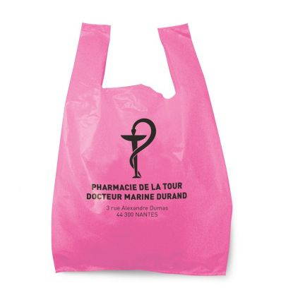 Sac Bretelle Pharmacie 28x7x48 cm Rose 50 MC
