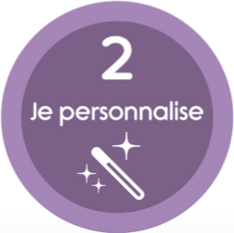 Je personnalise